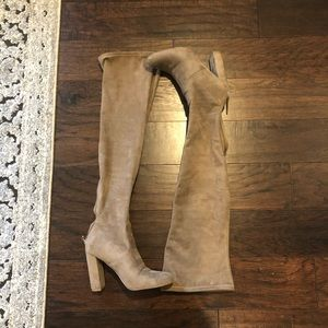 Steve Madden suede over the knee boots